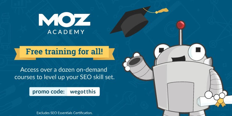 Search Engine Optimization MOZ Academy Free Courses